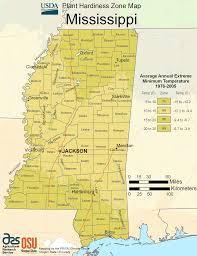 Growing Zone Map Mississippi Plant Hardiness Zone Map U2022 Mapsof Net