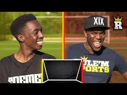 Challenge Ksi Ksi On That Crossbar Ting Woodwork Challenge Vs Fifamanny Rule