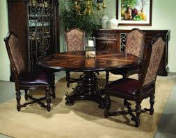 Dining Room Tables Round Large Formal Dininge Foot Mahogany Seats People Room Surprising