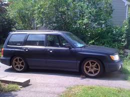 slammed subaru baja lowered foresters nasioc