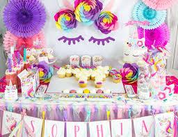 unicorn birthday party unicorns birthday truly magical unicorn birthday party catch