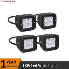 3 inch fog light kit 2010 2014 ford f150 svt raptor 4x 3inch cube spot led fog light kit