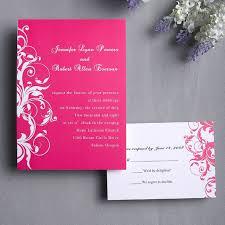 cheap invitation cards cheap pink damask wedding invitation cards