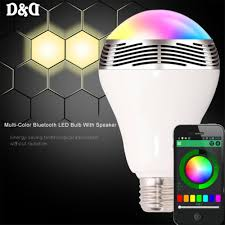 Bluetooth Light Bulb Speaker D U0026d Bl 05 Multi Color Bluetooth Led Bulb With Speaker Lazada Ph