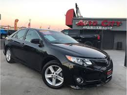 toyota credit bank used 2014 toyota camry se in fresno