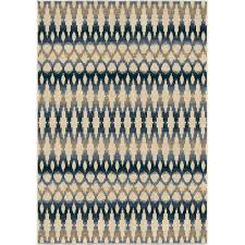 Capel Area Rug by 1840 5x8 Orian Rugs 1840 5x8 Indoor Outdoor Southwest Links Ikat