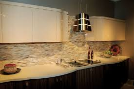 backsplashes granite kitchen backsplash ideas and dark cabinets