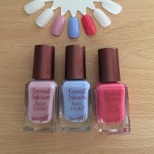 barry m coconut infusion nail polish review u0026 swatches u2022 just that