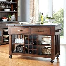 kitchen utility cart with wine rack kitchen island cart with wine
