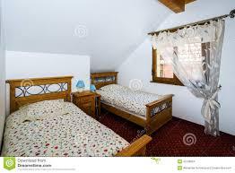 chambre a coucher des enfants chambre à coucher pour deux enfants photo stock image du