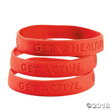 heart health bracelet images Heart health rubber bracelets