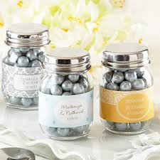 jar favors personalized glass jar wedding set of 12 glass and