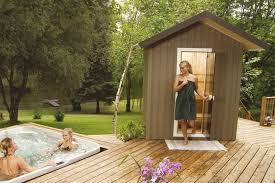 Backyard Sauna Plans by Outdoor Saunas