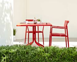 Red Dining Room Table Synne Square Dining Table Tables Scandinavian Designs