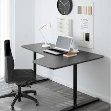 Office Furniture At Ikea by Bekant Standing Desk By Ikea U2013 Ergonomic Office Furniture Design Ideas