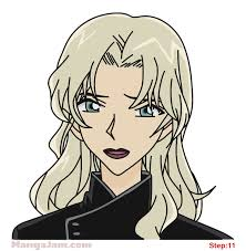 vermouth detective conan how to draw vermouth from detective conan mangajam com