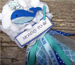 baby shower whale theme baby shower corsages picmia