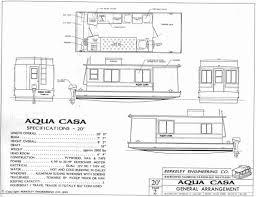 Houseboat Floor Plans Aqua Casa Houseboat