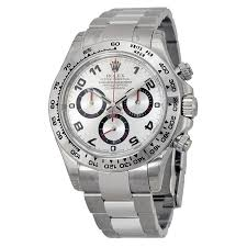 rolex bracelet white gold images Rolex cosmograph daytona silver dial 18k white gold oyster jpg