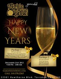 new years party package new year s party bar package 2 gable house bowl