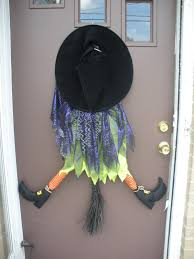 working house mom wife crashed witch halloween decor