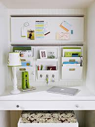 kitchen office organization ideas wall desk organizer transitional kitchen bhg voicesofimani com