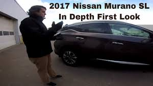 2017 nissan murano platinum silver 2017 nissan murano sl awd java metallic cashmere theme in depth
