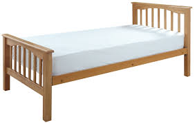Beech Bed Frame Crowther Beech High Foot End Bed Frame Hudson