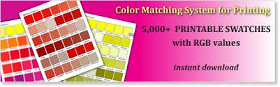 printable rgb color palette swatches my practical skills my
