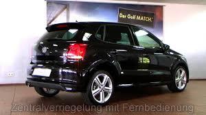 volkswagen polo black volkswagen polo highline 1 2 tsi r line deep black perleffekt