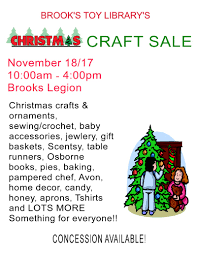 christmas craft sale at brooks toy lending library u0026 family