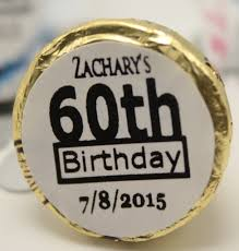 60th birthday party favors the hill happy 60th birthday party favors personalized