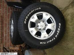 toyota tacoma road wheels armslist for sale tires and wheels for toyota tacoma