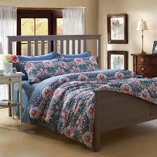 Ikea Bedding Sets Vintage Wooden Bedroom Furniture With Fascinating Blue Flowers
