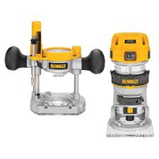 Home Depot Price Adjustment by Dewalt Routers Woodworking Tools The Home Depot