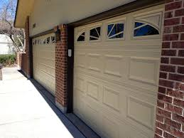 Painting Aluminum Garage Doors by Colorado Springs Paint Contractor Example Of Painting New