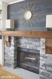 fireplace creative hang tv above brick fireplace home design