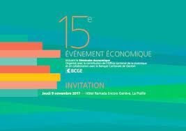 chambre de commerce de geneve save the date 15ème évènement économique de la ccig genie ch le