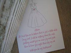 asking of honor poem bridesmaid poem i used to ask the to be in my wedding