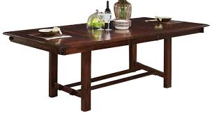 new classic madera dining table in chestnut 40 455 10 by dining