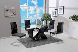 5pc dining room set black u2015 global united