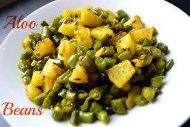 green beans u0026 potato aloo faliyan sabzi recipe by chawlas