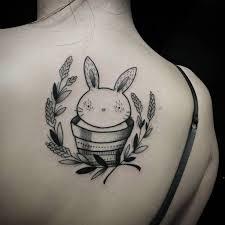 50 best tattoos images on pinterest rabbit tattoos bunny