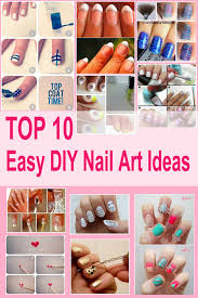 diy designs top 10 easy diy nail art designs for lazy yet creative girls diy