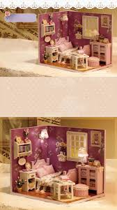 Diy Dream Home by Cuteroom 1 32dollhouse Miniature Diy Kit With Cover Led Light