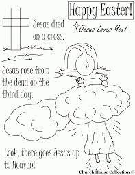 easter cross coloring page kids coloring