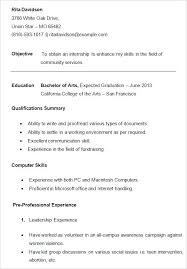 resume format for college students with no work experience resume template college student college student resume template