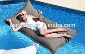 giant size outdoor bean bag chair pool side beanbag lounger easy