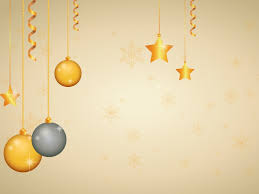 yellow christmas stars powerpoint templates 3d graphics