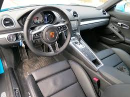 old porsche interior 2017 porsche 718 cayman s review u2013 the new classic rock the